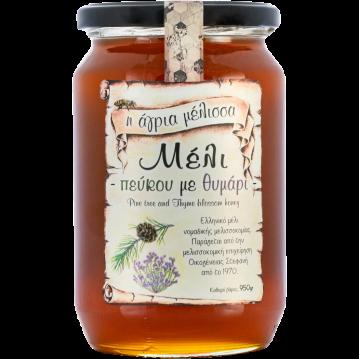 Agria Melissa - Miel de pin et de thym, 950 gr