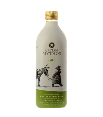 Cretan Mythos - Huile d'olive extra vierge BIO 1 L